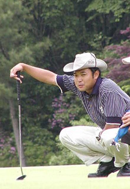2002年 日本プロゴルフ選手権大会 最終日 片山晋呉 片山は気合十分だったが・・・