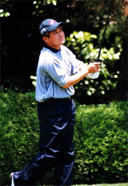 2002年 ダイヤモンドカップトーナメント 初日 横田真一 初日首位の横田真一