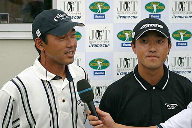 2002年 日本ゴルフツアー選手権イーヤマカップ 3日目 久保谷健一 今度は久保谷が首位に立った