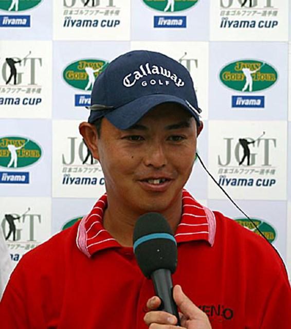 2002年 日本ゴルフツアー選手権イーヤマカップ 3日目 谷口徹 再び上昇した谷口徹