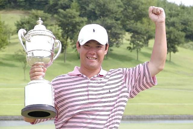 2002年 サトウ食品NST新潟オープンゴルフ選手権競技 最終日 今野康晴 今野ツアー3勝目!