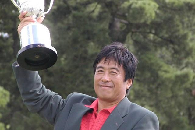 2002年 久光製薬KBCオーガスタゴルフトーナメント 最終日 湯原信光 湯原10年ぶりの美酒