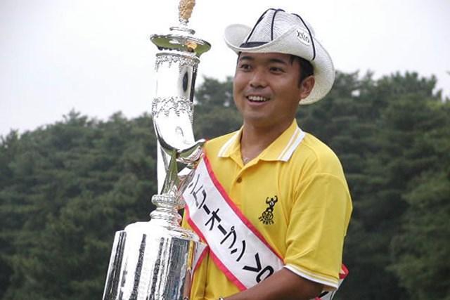 2002年 サントリーオープンゴルフトーナメント 最終日 片山晋呉 出た!? 片山の「たすき」