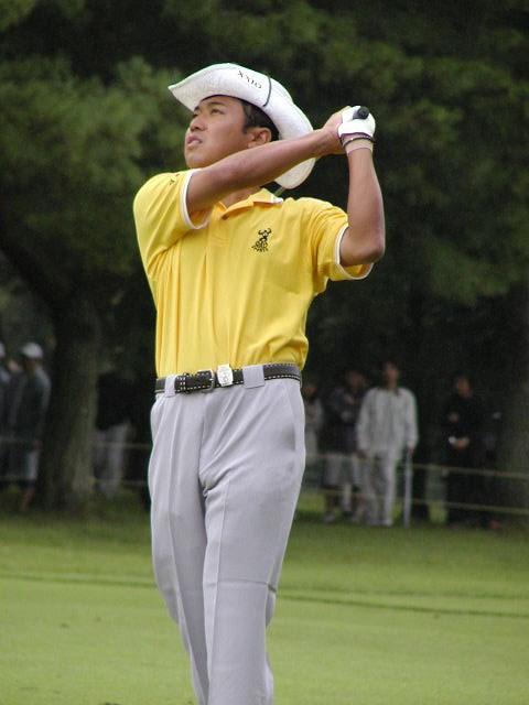 2002年 サントリーオープンゴルフトーナメント 最終日 片山晋呉 アイアンの切れで他を圧倒した