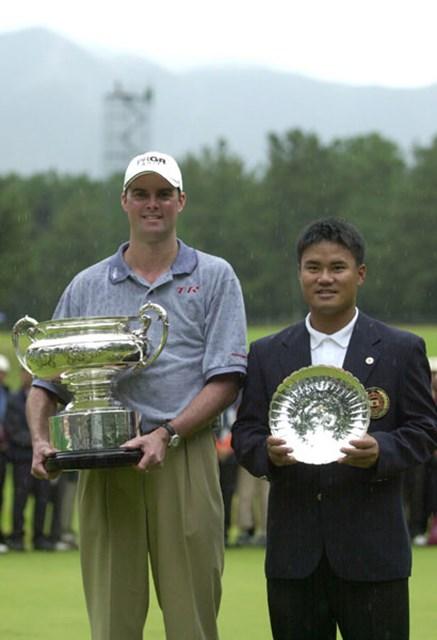 2002年 日本オープンゴルフ選手権競技 最終日 デビッド・スメイル 宮里優作 ビッグタイトルで初優勝のスメイル、そして2年連続ローアマの宮里優作