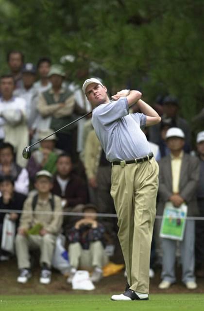 2002年 日本オープンゴルフ選手権競技 最終日 デビッド・スメイル  スメイルは全く隙を見せなかった