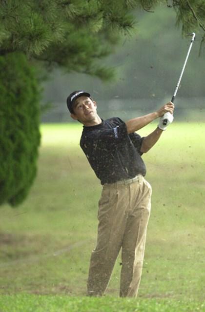 2002年 日本オープンゴルフ選手権競技 最終日 桑原克典 日本勢最高位に入った桑原