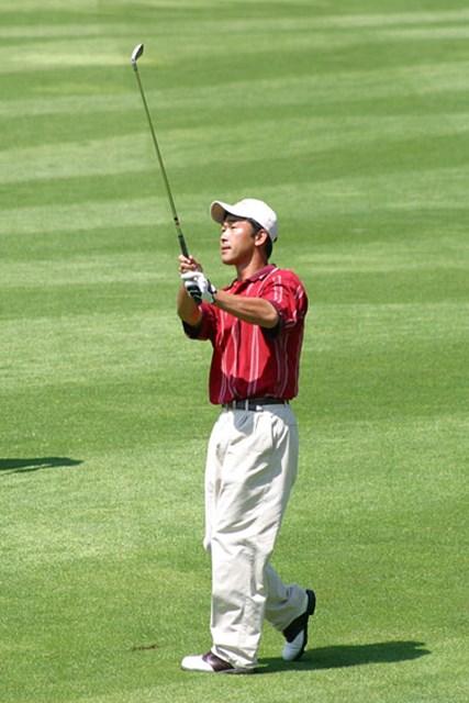 全英オープンの出場を決めた選手 久保谷健一