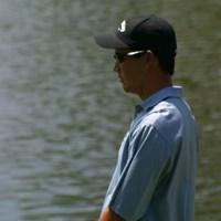 全英オープンの出場を決めた選手 D.ウィルソン 2002年 日本ゴルフツアー選手権イーヤマカップ 初日 ディーン・ウィルソン