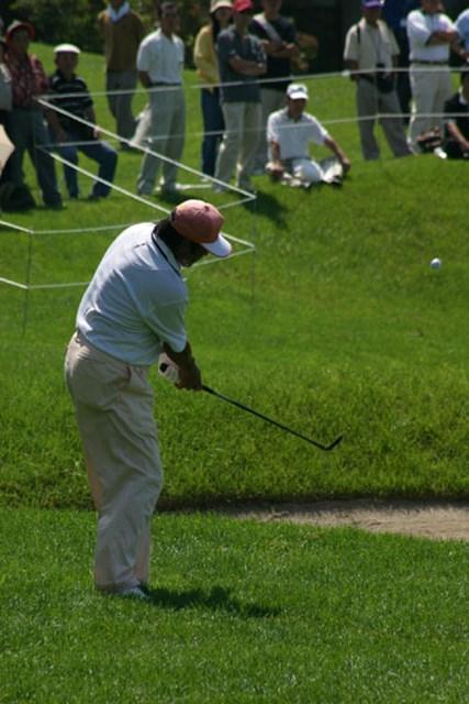 2002年 日本ゴルフツアー選手権イーヤマカップ 初日 尾崎将司