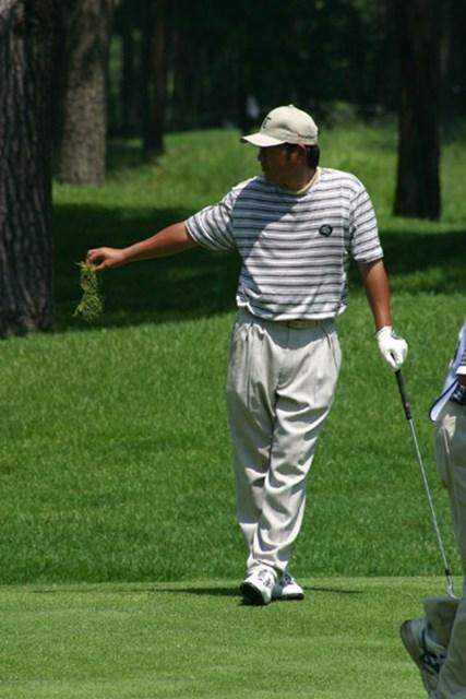 2002年 日本ゴルフツアー選手権イーヤマカップ 初日 尾崎健夫