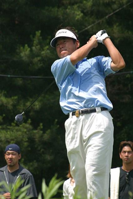 2002年 日本ゴルフツアー選手権イーヤマカップ 初日 尾崎直道