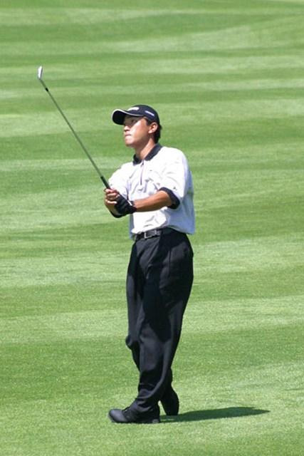 2002年 日本ゴルフツアー選手権イーヤマカップ 初日 佐藤信人