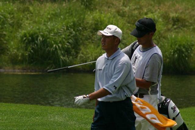 2002年 日本ゴルフツアー選手権イーヤマカップ 初日 宮瀬博文