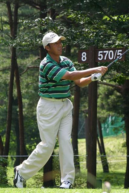 2002年 日本ゴルフツアー選手権イーヤマカップ 初日 芹澤信雄