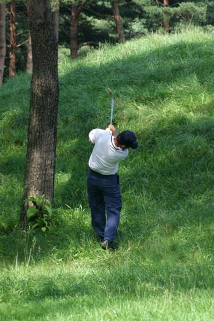 2002年 日本ゴルフツアー選手権イーヤマカップ 初日 中嶋常幸