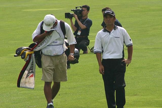2002年 日本ゴルフツアー選手権イーヤマカップ 初日 伊沢利光