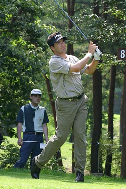 2002年 日本ゴルフツアー選手権イーヤマカップ 初日 クリスチャン・ペーニャ