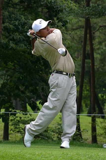 2002年 日本ゴルフツアー選手権イーヤマカップ 初日 プラヤド・マークセン