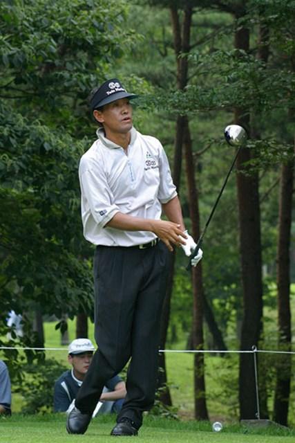 2002年 日本ゴルフツアー選手権イーヤマカップ 初日 金鍾徳