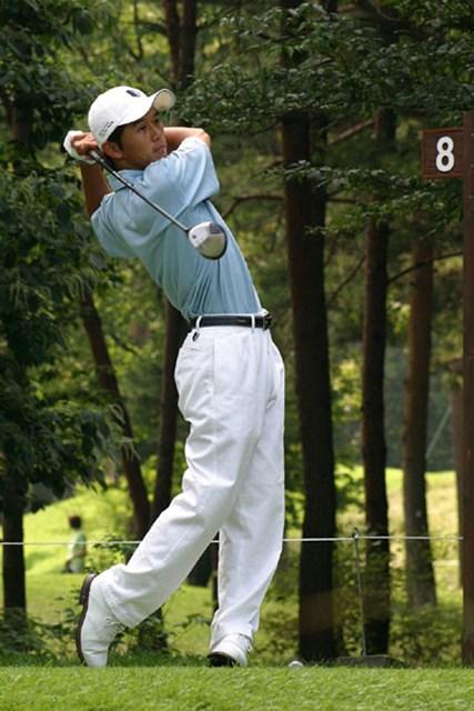 2002年 日本ゴルフツアー選手権イーヤマカップ 初日 近藤智弘