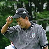2002年 日本ゴルフツアー選手権イーヤマカップ 3日目 金鍾徳