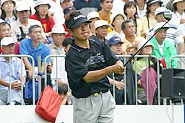 2002年 日本ゴルフツアー選手権イーヤマカップ 3日目 尾崎直道
