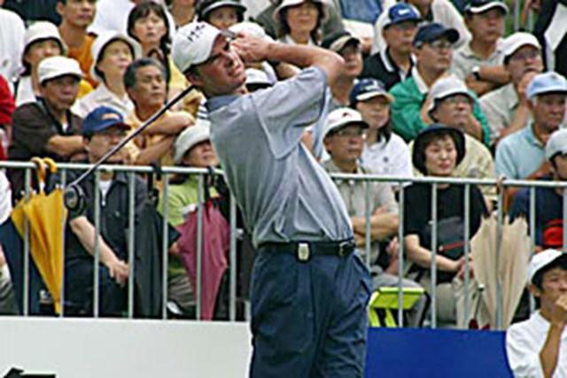 2002年 日本ゴルフツアー選手権イーヤマカップ 3日目 デビッド・スメイル