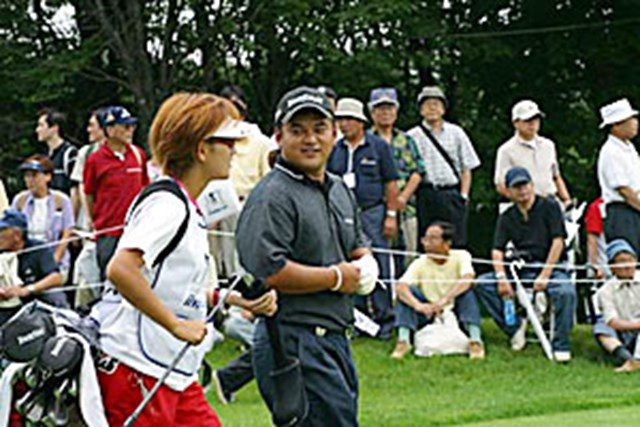 2002年 日本ゴルフツアー選手権イーヤマカップ 3日目 宮里聖志