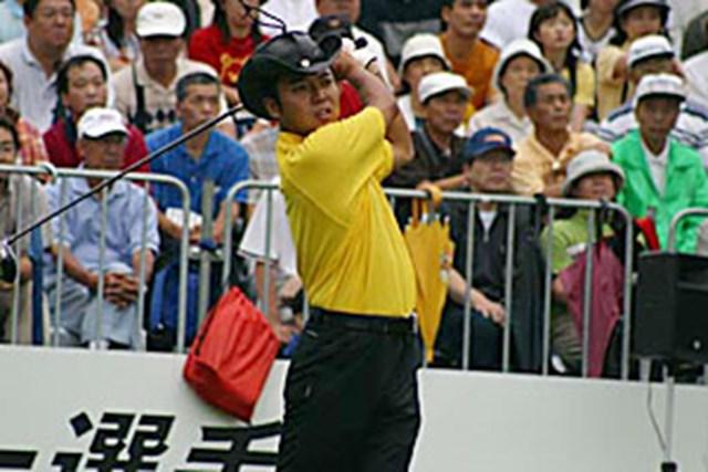 2002年 日本ゴルフツアー選手権イーヤマカップ 3日目 片山晋呉 片山晋呉ティショット