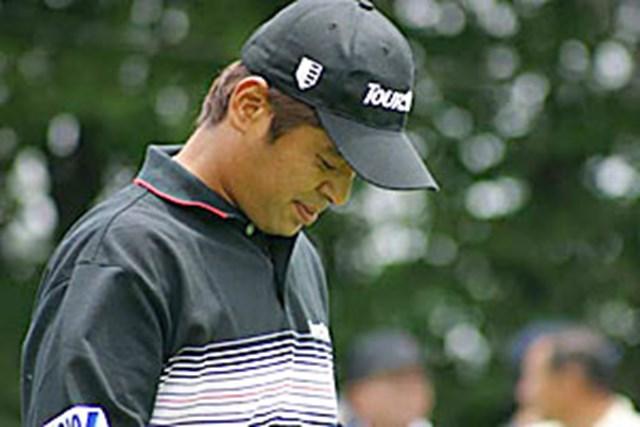 2002年 日本ゴルフツアー選手権イーヤマカップ 3日目 伊沢利光 伊沢利光ティショット直後