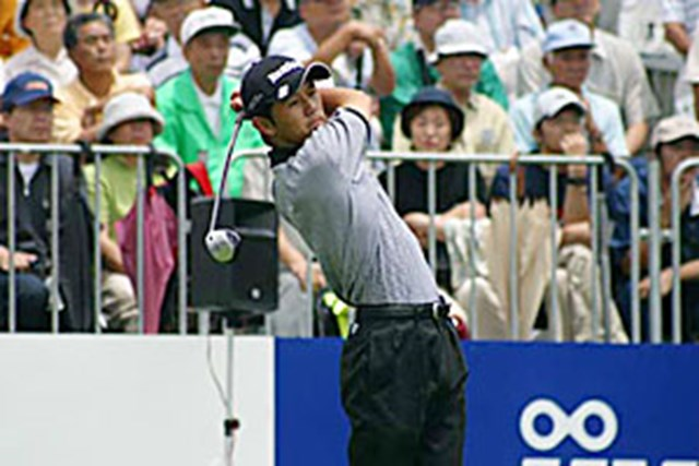 2002年 日本ゴルフツアー選手権イーヤマカップ 3日目 近藤智弘