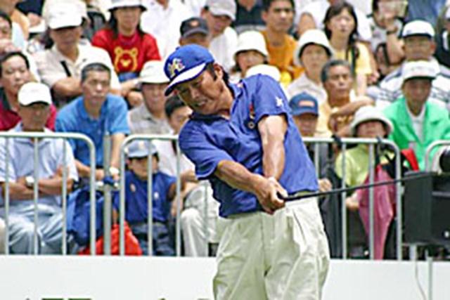 2002年 日本ゴルフツアー選手権イーヤマカップ 3日目 尾崎将司 尾崎将司ティショット