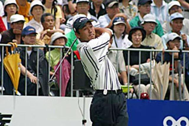 2002年 日本ゴルフツアー選手権イーヤマカップ 3日目 久保谷健一 久保谷健一ティショット