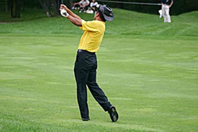 2002年 日本ゴルフツアー選手権イーヤマカップ 3日目 片山晋呉