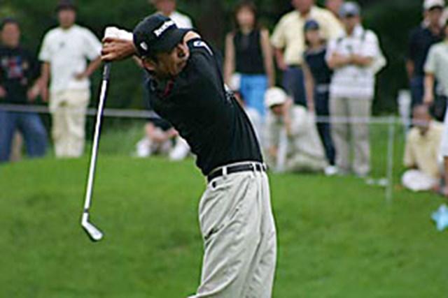 2002年 日本ゴルフツアー選手権イーヤマカップ 3日目 伊沢利光 伊沢利光 8番2オン狙い