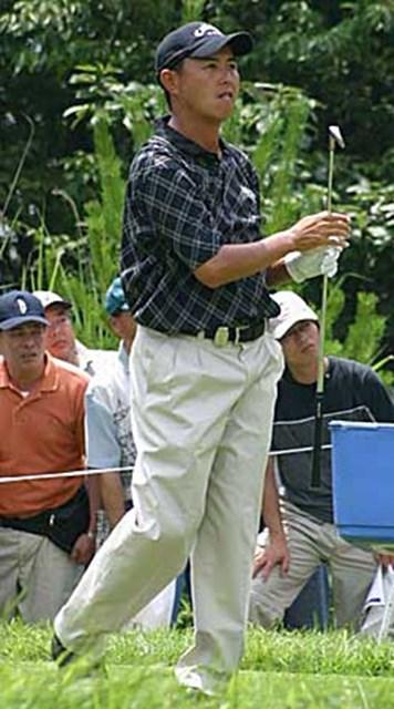 2002年 日本ゴルフツアー選手権イーヤマカップ 最終日 谷口徹