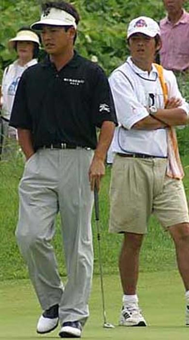 調子を崩してしまった桧垣 2002年 日本ゴルフツアー選手権イーヤマカップ 最終日 桧垣繁正