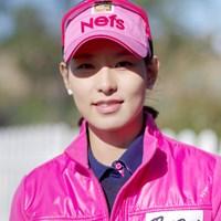 写真では伝わりにくいが、メディア対応も丁寧で優しい雰囲気で好感が持てるキム・ジャヨン 2012年 LPGAハナバンク選手権 事前情報 キム・ジャヨン