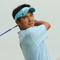 混戦を抜け出し、単独首位に立った森田徹 2012年 PGA・JGTOチャレンジカップII in 房総 2日目 森田徹