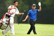 2012年 ブリヂストンオープンゴルフトーナメント 初日 上平栄道