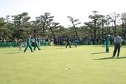 2002年 ダンロップフェニックストーナメント 3日目 練習グリーン