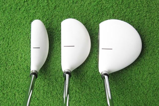 新製品レポート ソレンソンゴルフ パターウッドパター NO.2 ヘッド形状は3種類。構えてみるとフェース面があまり見えない