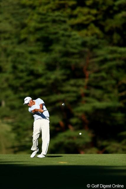 2012年 ブリヂストンオープンゴルフトーナメント 2日目 谷口徹 トップと1打差の4位タイ今日も良い位置をキープ