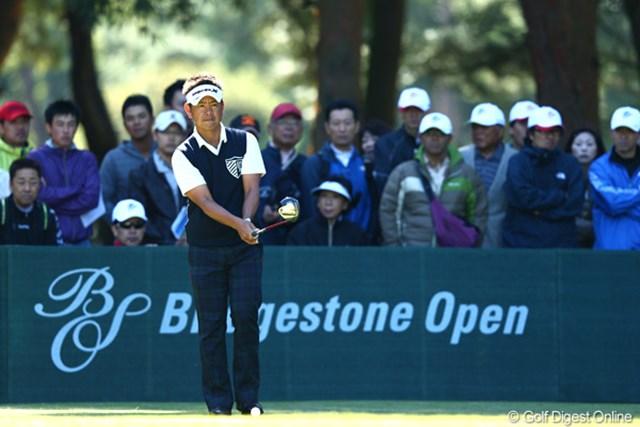 2012年 ブリヂストンオープンゴルフトーナメント 2日目 藤田寛之 2日目も首位をキープ、このまま最終日に・・・