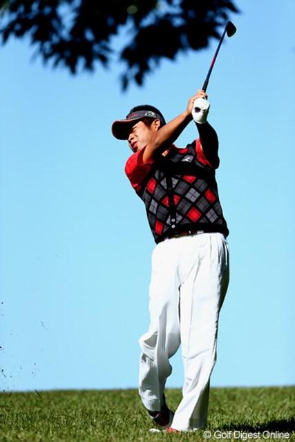 2012年 ブリヂストンオープンゴルフトーナメント 2日目 池田勇太 辛くも予選通過したホストプロ