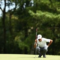 上位陣があまり伸ばしていない中、66で回り10位タイにUP 2012年 ブリヂストンオープンゴルフトーナメント 3日目 兼本貴司