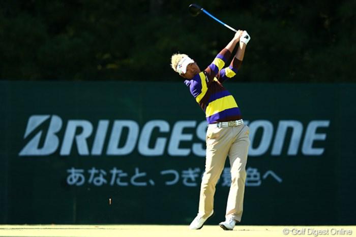 序盤に失速したドンファンは終盤にもチャンスを迎えたが・・・ 2012年 ブリヂストンオープンゴルフトーナメント 最終日 ドンファン