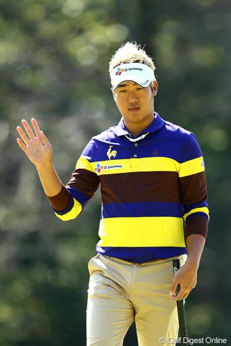 韓国出身のドンファン、10アンダー3位タイフィニッシュ 2012年 ブリヂストンオープンゴルフトーナメント 最終日 ドンファン
