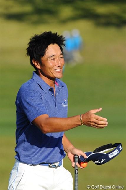 2012年 マイナビABCチャンピオンシップゴルフトーナメント 2日目 宮本勝昌 通算9アンダーの単独2位に浮上しながらも気持ちが乗らない宮本勝昌